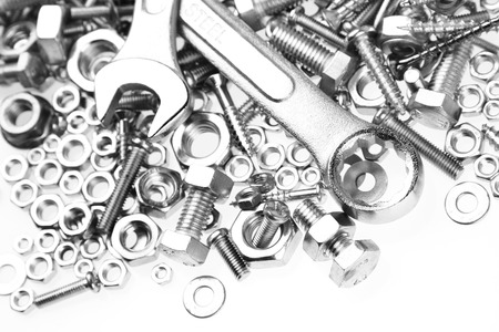 threaded: Wrenches on nuts and bolts
