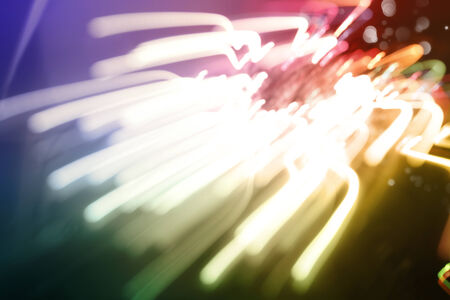 streaks of light: Abstract streaks of colorful light background Stock Photo