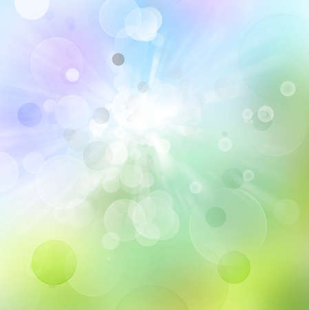 Circles on colorful abstract background photo