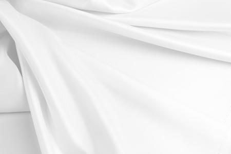 Primer plano de la tela de seda ondulada