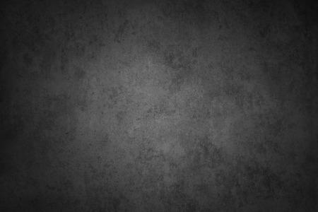Gris pared con textura, bordes oscuros Foto de archivo