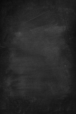 Chalk frotté sur tableau noir Banque d'images