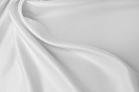 Primer plano de la tela de seda rizada