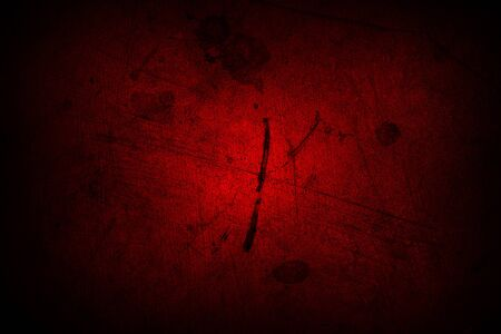 wall textures: Red grunge textured wall Stock Photo