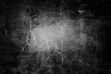 Dark grunge textured wall closeup photo