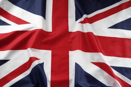 inglese flag: Primo piano di bandiera Union Jack