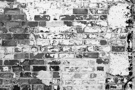 old stone wall: Closeup of bricks in wall