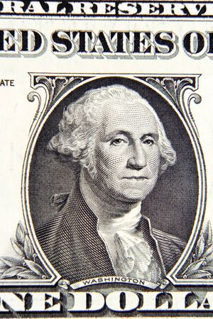 george washington: George Washington en Am�rica del billete de un d�lar