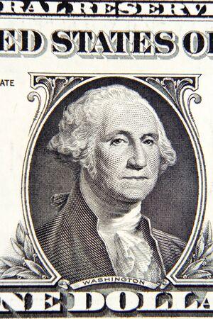 george washington: George Washington on American one dollar banknote
