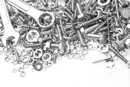 screw: Wrenches on nuts and bolts