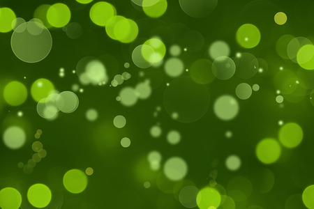 green background: Abstract blurred green circles background Stock Photo