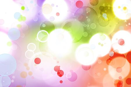 colorful background: Colorful circles abstract background
