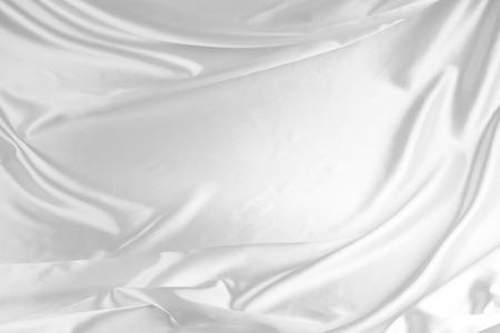 tela seda: Primer plano de la tela de seda de sat�n ondulada