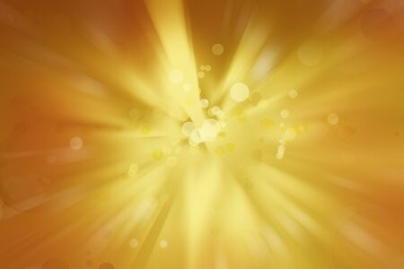 yellow background: Bright explosion. Circles on yellow background