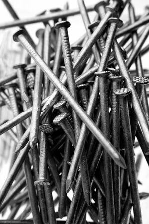 nails: Closeup of steel nails