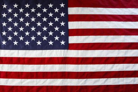 Gros plan d'étoiles drapeau américain et rayures Banque d'images