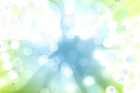 blue green background: Circles blue green explosion background Stock Photo