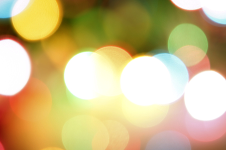 light abstract: Colorful circles of light abstract background Stock Photo