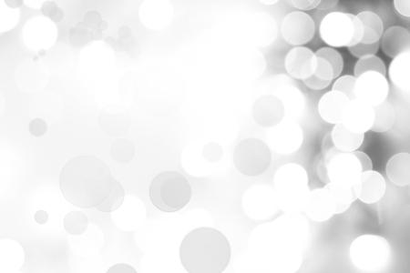 glowing: Abstract defocused bokeh circles background