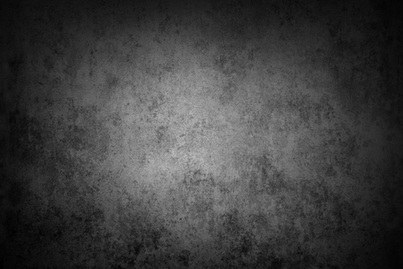 Grey wall background. Dark edges