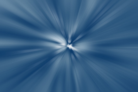on a white background: Blue and white streaked background Stock Photo