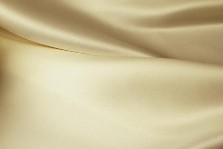 Close-up van de lijnen in bruin zijden stof