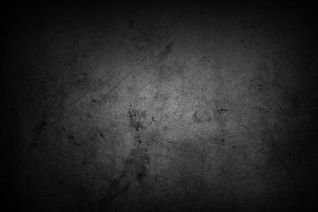 Grijze muur achtergrond. Donkere randen Stockfoto
