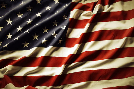 파문 미국 국기의 근접 촬영 스톡 콘텐츠