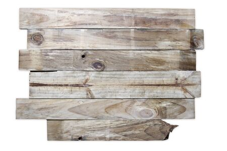wood textures: Closeup of wooden boards on plain background