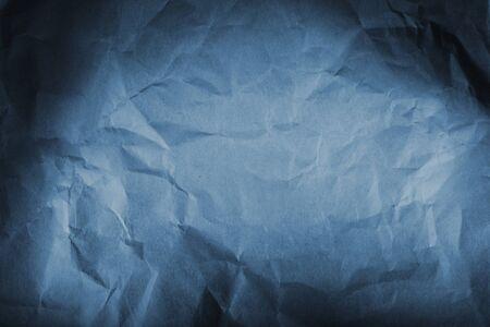 textures: Nahaufnahme des blauen Papierbeschaffenheit