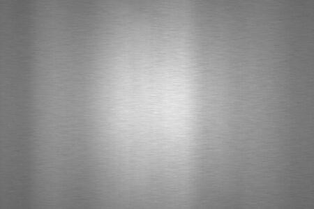 textures: Gebürstetem Stahl strukturierten grauen Hintergrund Lizenzfreie Bilder