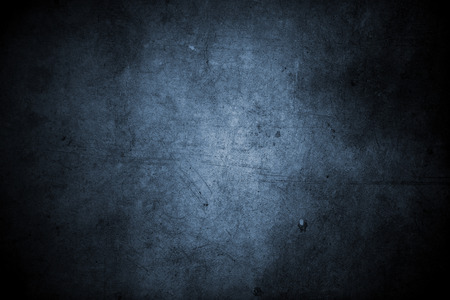 파란색 grunge 벽의 근접 촬영