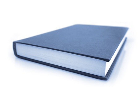 closed book: Closed book on plain background