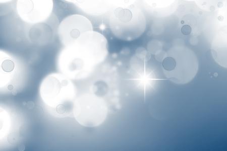 circles: Stars and circles abstract background
