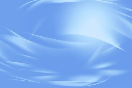 curved lines: Curved lines blue tone background Stock Photo