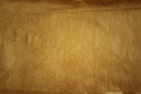 Primer de la textura de papel marrón