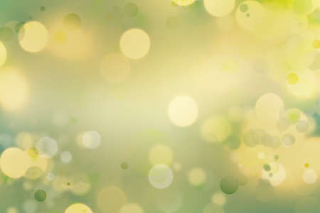 special effects: Yellow and green tone abstract background Stock Photo