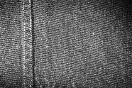 in jeans: Primer de la tela de mezclilla negro