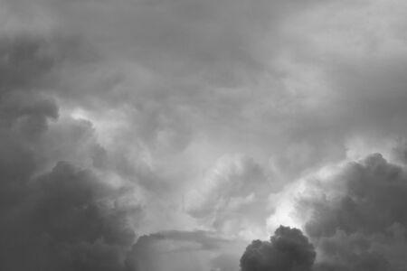 heavenly: Grey heavenly clouds in sky