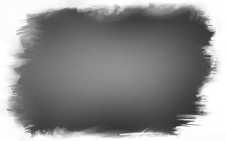 Grey paint on white background
