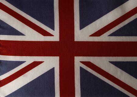 union jack: Closeup of British Union Jack flag