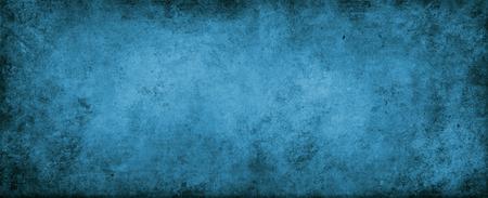 Closeup of blue grunge wall
