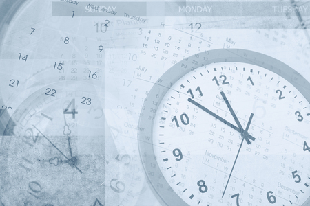 blue tone: Clocks and calendars, blue tone