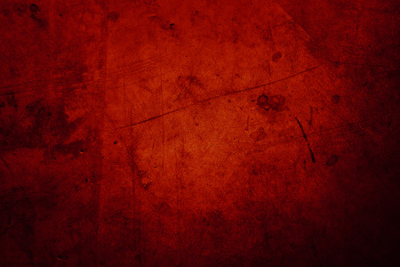 Red grunge textured wall background Banco de Imagens