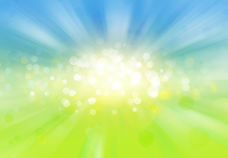green background: Blue green explosion background