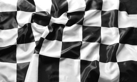 cuadros blanco y negro: la bandera a cuadros en blanco y negro