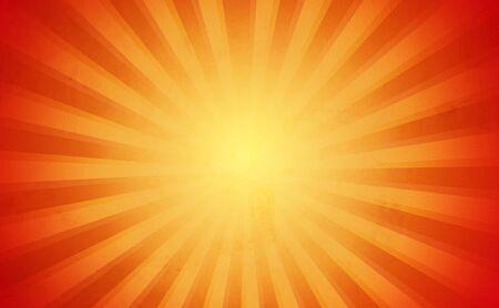 Bright yellow and orange sunny background