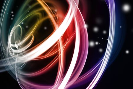 Colorful blurry lines abstract background 스톡 콘텐츠
