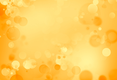 Orange circles abstract background