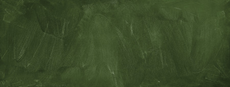 Chalk rubbed out on green chalkboard background